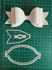 "D002 5.75"" Xlarge Bow Cutting Dies Suit For Sizzix Xcut And More Machine"