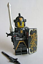 Lego Custom KNIGHT PALADIN Lion Templar Minifigure W/ Weapons and Armor