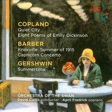 Music By Copland & Barber & Gershwin, New Music