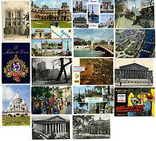 17 CARTES POSTALES DE PARIS 1960-1980 - VUES, FOIRE DE PARIS, SALON AGRICULTURE