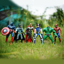 6pcs Marvel Avengers Super Hero Superhero Action Figure Kids Toy Toys | ALL 6!!