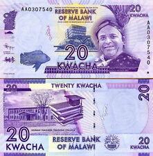 MALAWI - 20 kwacha 2012 FDS - UNC