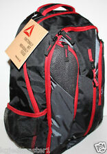 Reebok Axel NWT Laptop & Tablet Computer Backpack Black w/ H2o Hydration Sy
