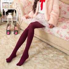Women Girls Candy Color 120 Denier Tights Pantyhose Stockings Hosiery One Size