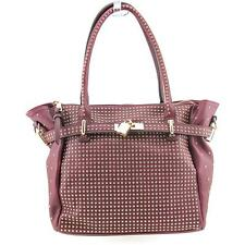 Melie Bianco Miranda Women Burgundy Shoulder Bag