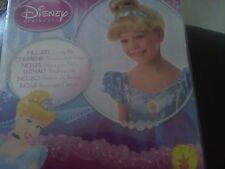 Per Bambini Bionda Cenerentola Disney Parrucca Costume Accessorio Ragazze Nuovo in Confezione