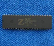 2pcs Z84C0020PEC Z84C0020  NMOS/CMOS Z80 CPU CENTRAL PROCESSING UNIT DIP-40