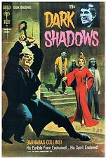 DARK Shadows no. 10/1971 Barnabas Collins/Gold Key