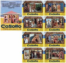 CASOTTO SET FOTOBUSTE 8+SOGG. JODIE FOSTER YOUNG 1977 THE BEACH HUT LOBBY CARD