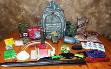 160pc Zombie Apocalypse Survival BONUS 3 Day 72 Hour Kit Emergency Bug out Bag