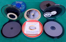 5 Piece Lot Used CD Disc Cleaners Labelers Protectors Memorex Fellowes Philips