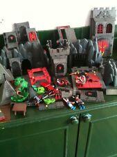 Playmobil Figura Y Castillo Repuestos, castillo negro