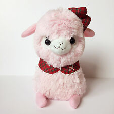 AMUSE AKB48 School Mates Baby Alpacasso Pink Girl (Big 35cm) Alpaca Plush