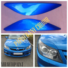 *NEW* VAUXHALL VECTRA C FACELIFT FRONT EYEBROWS/EYELIDS PAINTED ANY COLOUR(PAIR)