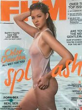 FHM Philippine Magazine CHLOE DAUDEN ALL WET FOR YOU MAY 2014 Issue