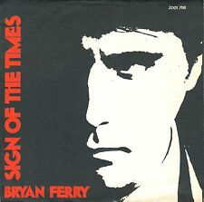 """7"""" Bryan Ferry (Roxy Music) – Sign Of The Times // Germany 1978"""