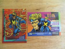 1993 SKYBOX MARVEL UNIVERSE 4 HAVOK X-MEN CARD SIGNED BY DAN PANOSIAN, WITH POA