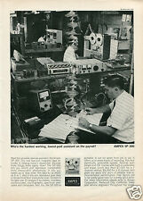 1963 Ampex SP-300 Magnetic Tape Recorder Print Ad