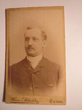 Emden - 1888 - Heinrich Kappelhoff als Mann im Anzug - Portrait / CDV