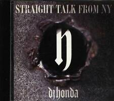 dj honda - STRAIGHT TALK FROM NY. - Japan CD