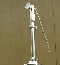 "2"" Stainless Steel Reflux Column, Copper Packing, Moonshine , E-85 Ethanol Still"