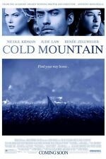 Cold Mountain movie poster 11 x 17 inches - Jude Law poster
