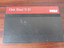 OUT RUN  3D           -----   pour SEGA MASTER SYSTEM  // CART.