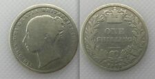 Collectable Silver 1872 - Queen Victoria - One Shilling Coin - Die No 93?
