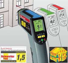Infrarrojos leak detector de temperatura escáner termómetro con láser batería incl.