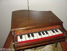 VINTAGE BABY GRAND PIANO WOODEN TOY