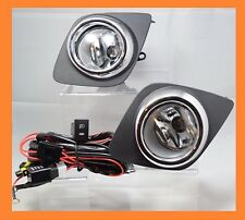 2008 2009 2010 2011 2012 Toyota Rav4 Clear Fog Light Kit wiring+ switch