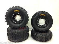 Hiper Tech 3 Beadlock Wheels + CST Ambush Tires Front/Rear XC Kit TRX 450R 450ER