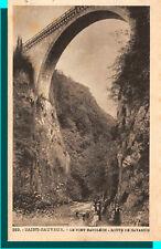 CPA - San salvador - el puente napoleón camino de gavarnie