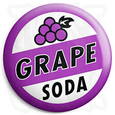 Grape Soda - 25mm Button Badge - Ellie's Up Bottle Top