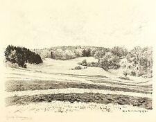 HANS RICHARD VON VOLKMANN - Wald und Feld - Lithografie 1918