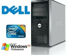 Dell GX745 CORE 2 DUO CD2 1.86GHZ 4GB 750GB  Windows XP Pro SP3 OFFICE