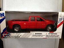 NewRay Dodge RAM 3500 Dually Pickup Truck 1:32 scale diecast Red Hemi [CLRFUL]
