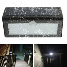 66 LED Solar Power PIR Motion Sensor Wall Light Outdoor Waterproof Garden Lamp