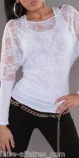 Vêtements FEMME / FILLE T-shirt transparent / Fashion / Taille Unique : 36 38 40