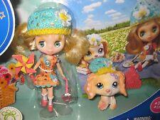 New Littlest Pet Shop Blythe Doll Pinwheels & Daisies B5, 1615 Golden Retriever