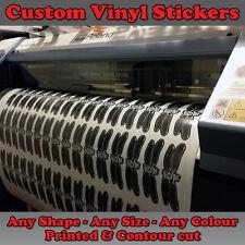 Personalizzato Stampato in Vinile Adesivi per la progettazione etichette Decalcomanie Tagliare qualsiasi forma