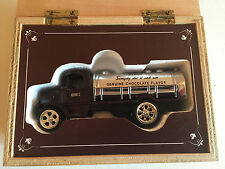 ERTL Hershey's Chocolate Syrup Tanker Truck with Wood Display Box H306