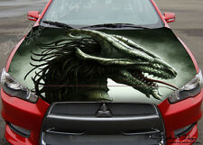 Abstract Dragon Full Color Graphics Adhesive Vinyl Sticker Fit any Car Hood #145