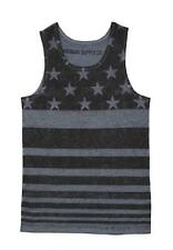 AMERICA USA FLAG  Fourth Themed ~  Tee T-SHIRT TANK TOP  ~ Men's S Small ~  NEW