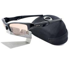 Oakley OO 9009-05 TRANSITIONS FLAK JACKET XLJ Polished Black VR50 Men Sunglasses