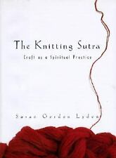 Susan Gordon Lydon~THE KNITTING SUTRA~SIGNED 1ST/DJ~NICE COPY