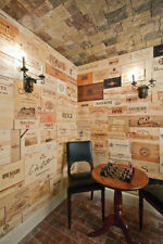 10 Assorted & Branded Wine Panels From Crates (Wine Box) Sides/Ends/Tops Wood