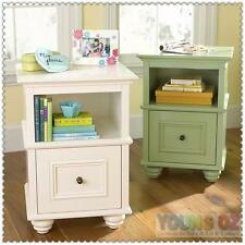 New YoungOZ Petite Bedside / Side Lamp Table w/ one Drawer