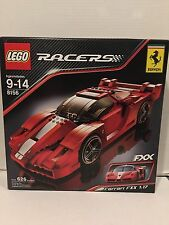NEW LEGO 8156 RACERS Ferrari FXX 1:17 Extremely Rare Collectible set open box