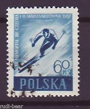 Polen Nr. 1003  gest.  Skispringen